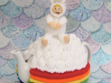 Unicorn Over the Rainbow Tea Cosy