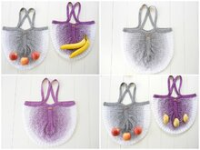 Knitting Pattern – Shopping Bag Netty – No.214E