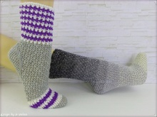 """Easy-Soks°9"" Häkelsocken / Schoppersocken, Gr. 22 - 45"