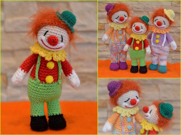 Clown Häkeln Super Für Fasching Karneval