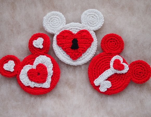 8a9f9b8f8d1 Valentine Mouse crochet pattern - 2