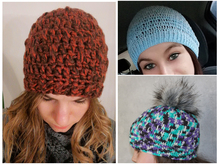 "Hat ""Eezy"" - A Crochet Pattern for every size and every kind of yarn"