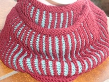 Patenter Loop, gestrickt