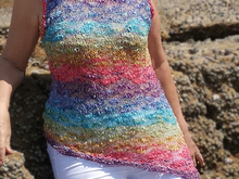 Over The Rainbow Top  (S - XXXL)