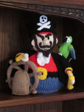 Pirate Tea Cosy Knitting Pattern