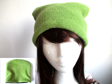 winter fleece beanie sewing pattern, 6 sizes