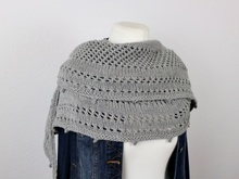 "Knitting pattern shawl ""Secrets"""