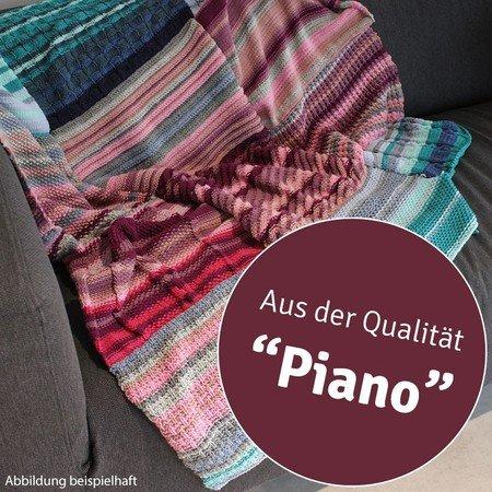 Strickanleitung Temperaturdecke Piano 759201a