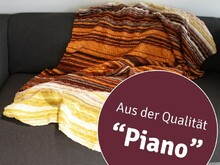 "Strickanleitung Temperaturdecke ""Piano"" 759200A"