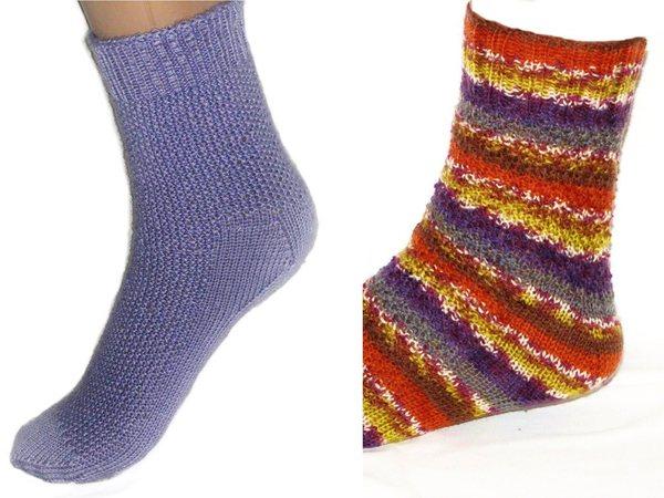 Die Mowi Ferse Socken Stricken Genial Einfach Strickanleitung Für