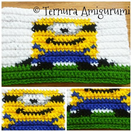 crochet pattern Minion rectangle