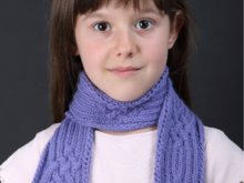 How To Knit Scarfs With Animal Heads For Kids
