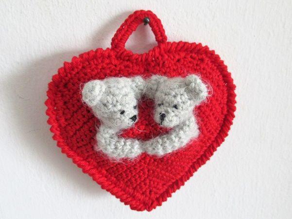 Herz Hakeln Valentins Herzchen Mit Baren