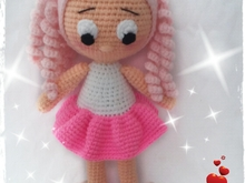 Haakpatroon van pop NINNA dutch- english- deutsch ternura amigurumi