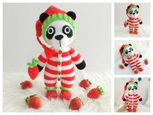Strawberry Panda Toffee