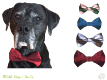 Oscar Bow Tie for Dog Collar 4 sizes Sewing Pattern