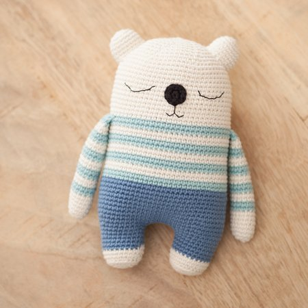 Get 70 Crochet Teddy Bear Patterns for free. See tons of photos ... | 450x450