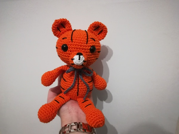Toni the Tiger - Crochet Pattern