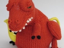 Tea-Rex Tea Cosy Knitting Pattern