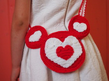 Heart Minnie Purse