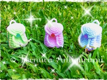 Crochet pattern small backpack pdf by ternura amigurumi english- deutsch- dutch