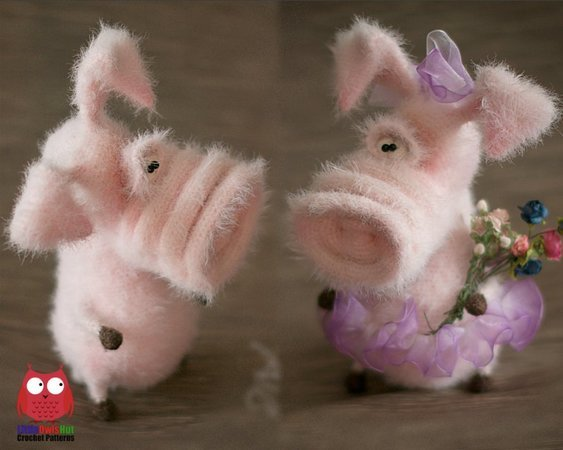 Sweet pig amigurumi pattern | Crochet pig, Crochet patterns ... | 450x563