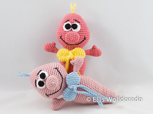 Einfachen Baby Greifling häkeln - premium & kostenlose Anleitungen ... | 450x600