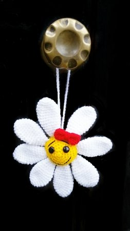 pattern Flower pendant  pdf ternura amigurumi english- deutsch- dutch