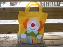 "Nähanleitung - Kindertasche ""Clown"""