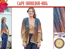 CAPE SHOULDER-HUG