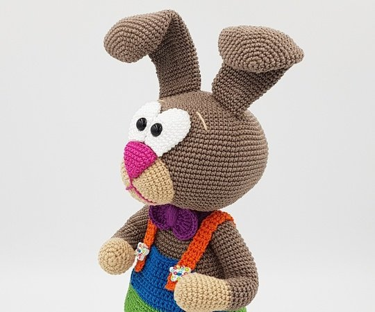 "Crochet Pattern Bunny ""Willi-Funny"""