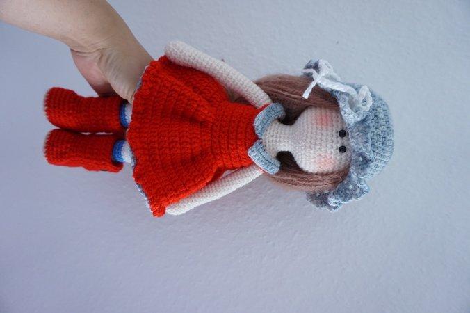 Crochet Doll Pattern Amigurumi Crochet Doll Tilda Doll   Etsy   450x676