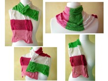 Knitting instruction scarf Reesu