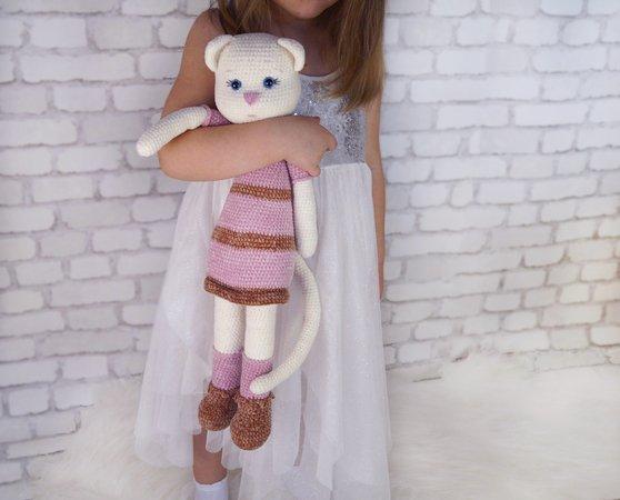 67 Ideas crochet cat keychain pattern amigurumi for 2019 ... | 450x558