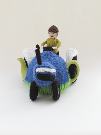 Blue Ford Tractor Tea Cosy