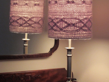 Cablelight Lampshade Knitting Pattern