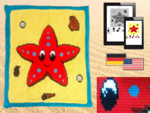 Childrens Blanket - Little Starfish