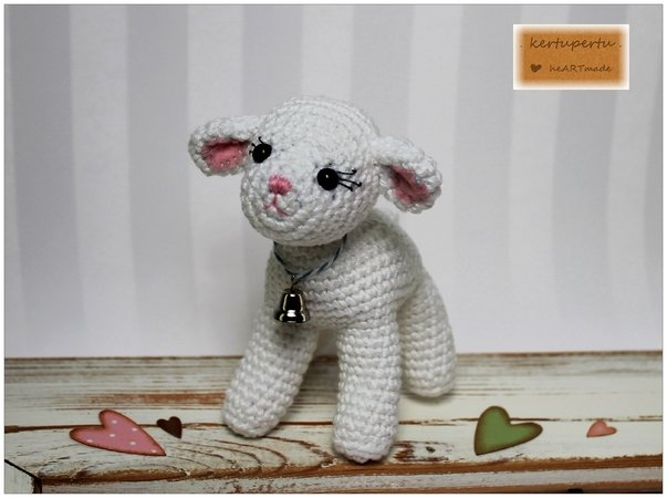 Amigurumi Cute Sheep Free Pattern - Crochet.msa.plus | 450x603