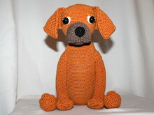 Bo the rodesian ridgeback crochet pattern