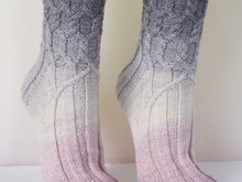 Bellana - cable sock pattern
