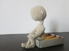 Tiny doll basic - crochet doll body