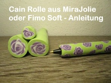 "Cain  ""Rose"" aus MiraJolie oder Fimo Soft - Anleitung"