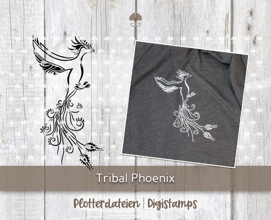 """Tribal Phoenix"" - Plotterdatei"
