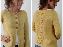 "Strickanleitung ""Sunshine Cardigan"""