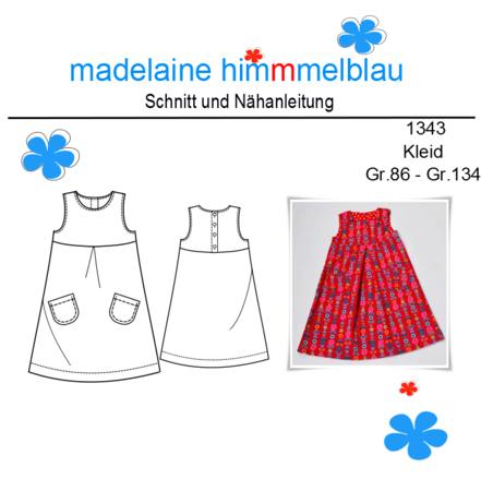 Kleid 128 schnittmuster kostenloses Kostenloses Schnittmuster