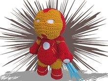 Iron Man Häkelanleitung Amigurumi PDF Deutsch - English