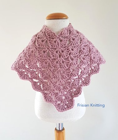 Crochet pattern Arc Poncho