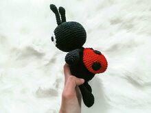Marly the Ladybug - Crochet Pattern