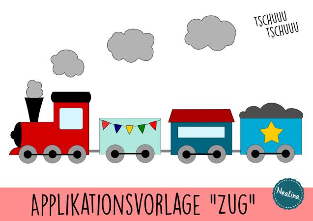 Applikationsvorlage Zug Lokomotive