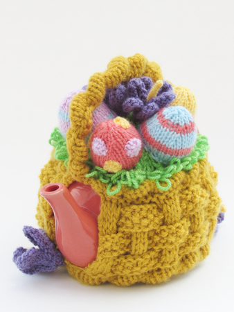 Basket of Easter Eggs Tea Cosy